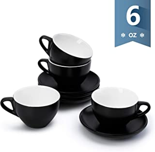 Best black coffee cups and saucers Reviews