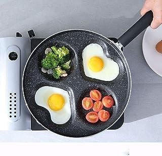 4 in 1 Multifunction Omelet Mold, Eggs Ham Pancake Fryer an Heart-Shaped Omelet Pot, Lightweight, High Wear Resistance, fo...