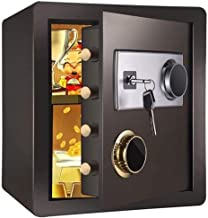 HDZWW Security Safe Box, Electronic Digital Securit Safe Steel Construction with Lock,Anchoring Design for Home Office Hot...