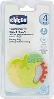 Chicco 2579000000-1pc Fresh Relax Teething Ring 4m+ Assorted