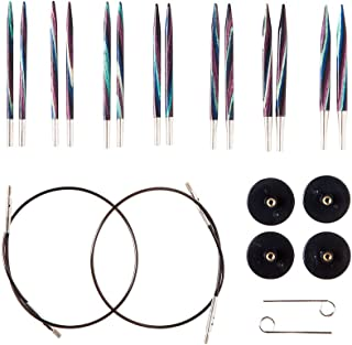 "Knit Picks Options 2-3/4"" Short Square Interchangeable Wood Knitting Needle Set (Foursquare)"