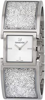 Swarovski Crystalline Paved Bangle Bracelet Watch
