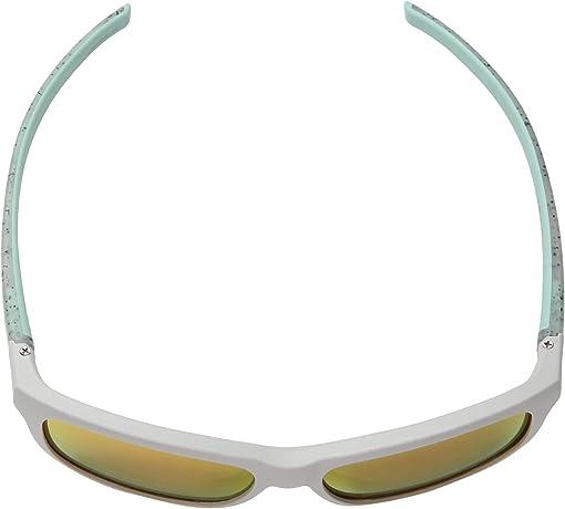 Gray Light/Ice Mint Specks Frame with Spectron 3CF Lenses