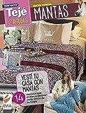 Mantas 2 agujas: Vestí tu casa con mantas. 14 modelos que invitan a decorar cada rincón de tu hogar (Spanish Edition)