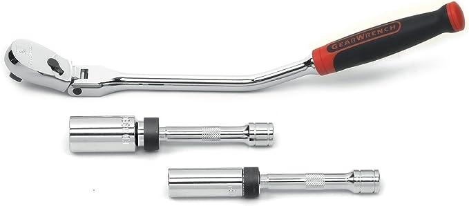 """Laser Outils 7891 Joint Universel Spark Plug Socket Set 3//8/""""D 3pc"""