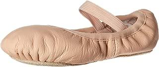 Bloch Dance Girl's Belle Full-Sole Leather Ballet Slipper/Shoe, Pink, 13 B US Little Kid