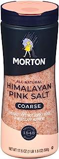 Morton All-Natural Himalayan Pink Salt, Coarse, 17.6 Ounce