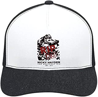 Nicky Hayden New General Purpose Men and Women Breathable Adjustable Stylish Baseball caps