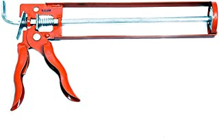 KAAM - STEEL SILICON SEALANT GUN / CAULKING GUN (9 inches) / MANUAL APPLICATOR GUN SKELETON TYPE