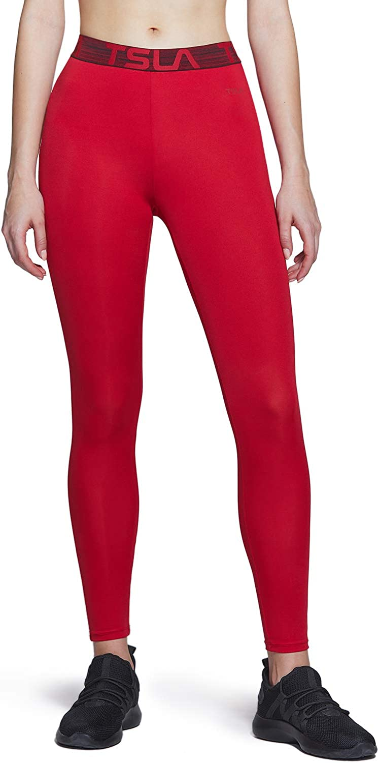 TSLA Dedication Women's Courier shipping free shipping Sports Workout Leggings Running Dry Exercise Cool