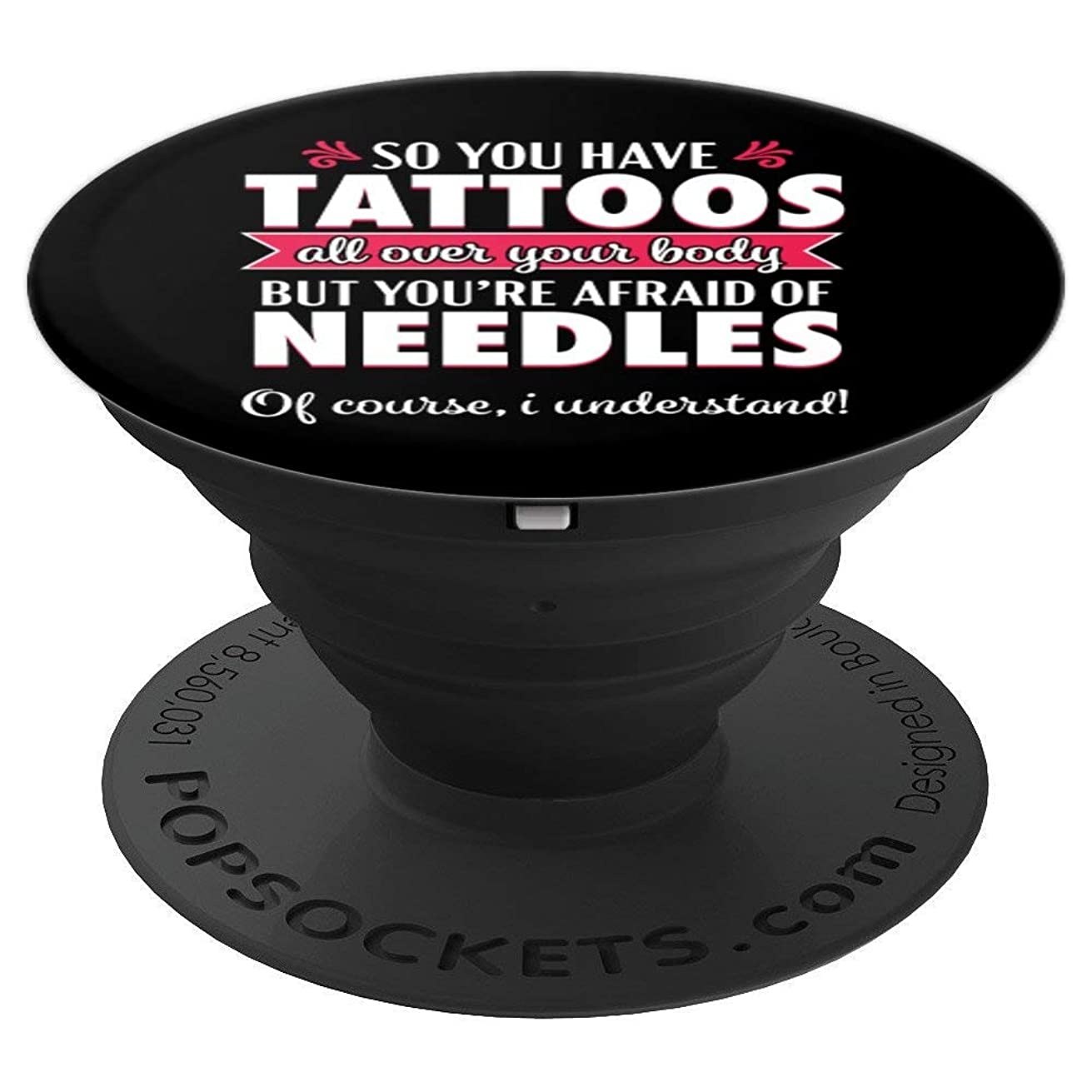 Phlebotomist Funny Phlebotomy Sarcastic Quote Gift - PopSockets Grip and Stand for Phones and Tablets