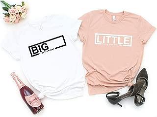 Big Little Sorority Reveal Shirts, Custom Sorority Gift, Sorority Shirt, Sorority Clothing, Greek Letters, Big Little Shirts