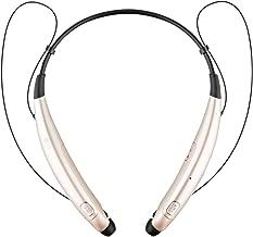 LG Electronics Tone Pro HBS-770 Stereo Bluetooth Headphones – Gold (Renewed)