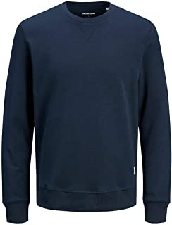 JACK & JONES Bluza sportowa Mężczyźni JJEBASIC SWEAT CREW NECK NOOS