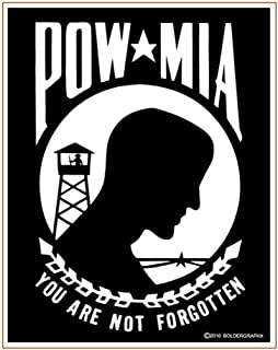 pow mia decal vinyl