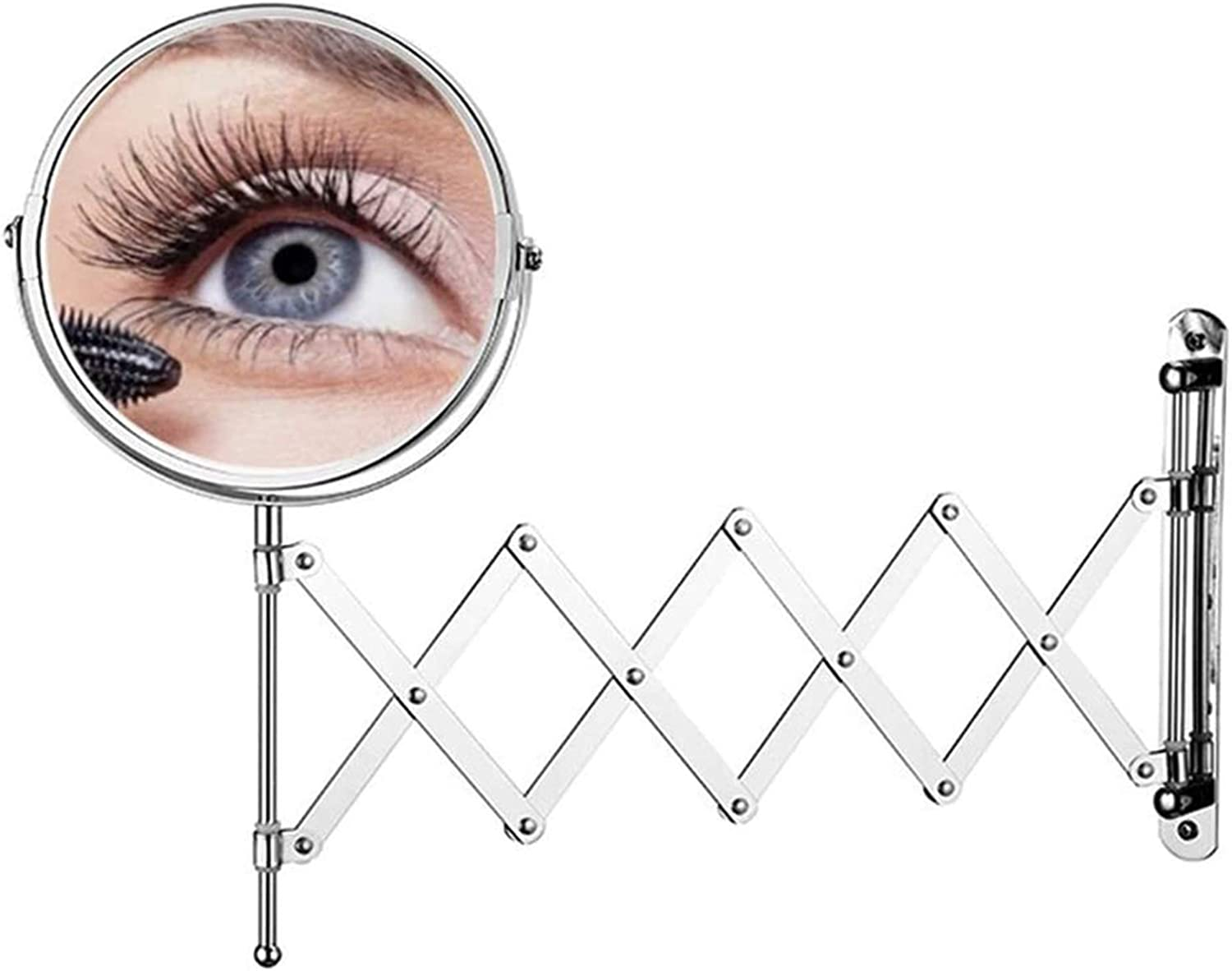 makeup mirror sale Bathroom Mirrors It is very popular Wall dou Magnification Mounted 7x