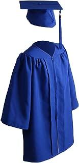 Unisex Matte Kindergarten Graduation Gown Cap Tassel Set 2019