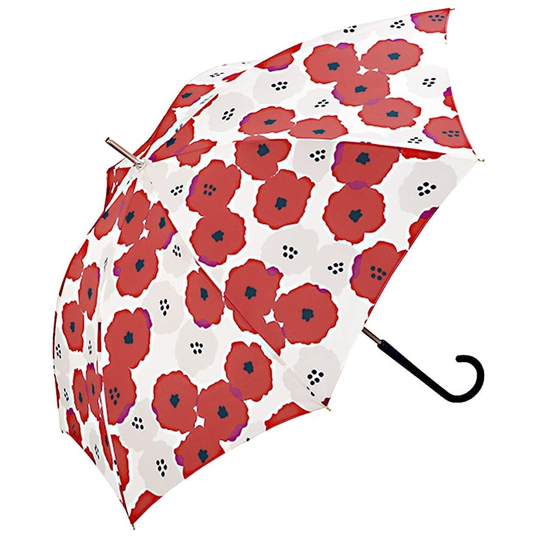 ワールドパーティー(Wpc.) 雨傘 長傘  レッド 赤  58cm  レディース ピオニ 5521-07 RD