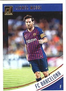 2018-19 Donruss Soccer #1 Lionel Messi FC Barcelona Official Panini 2018-2019 Futbol Trading Card