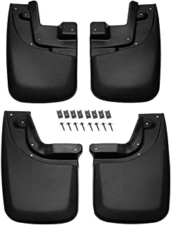 A-premium Splash Guard Mud Flaps Mudflaps for Toyota Tacoma 2005-2015 with OE Fender Flares Front and Rear 4-PC Set