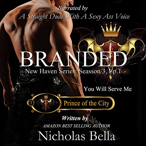 Branded: Prince of the City audiobook cover art