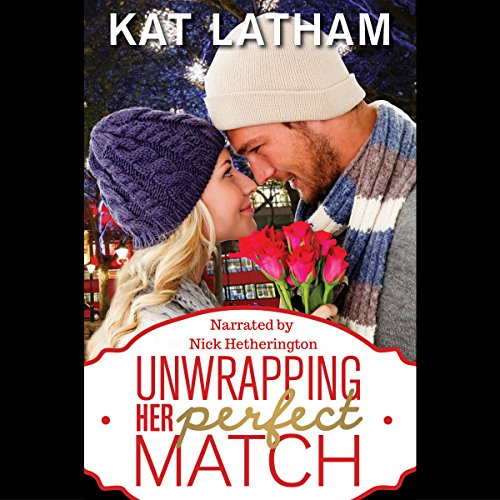 Unwrapping Her Perfect Match audiobook cover art