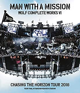 Wolf Complete Works VI ~Chasing the Horizon Tour 2018 Tour Final in Hanshin Koshien Stadium~(特典なし) [Blu-ray]