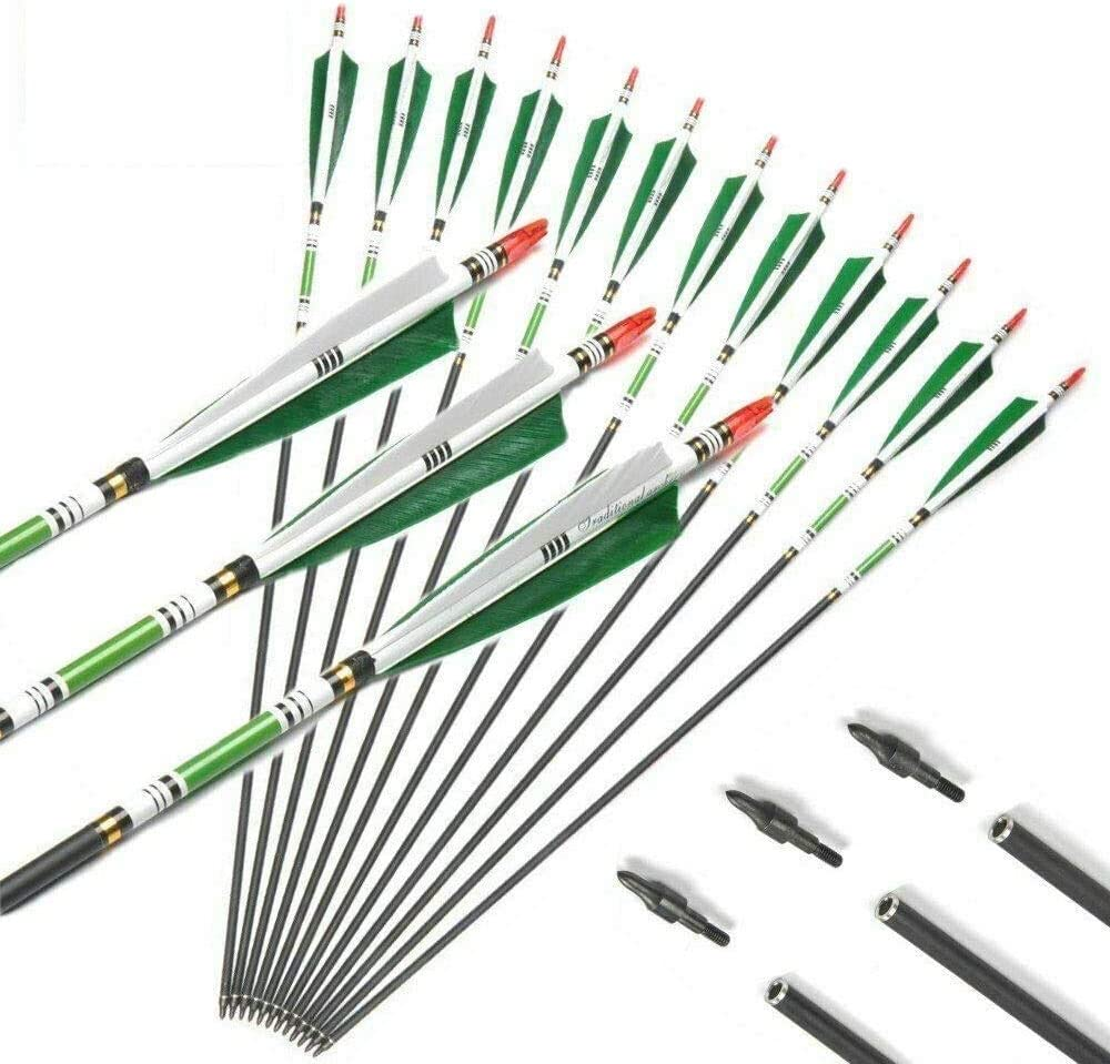 E-ROCK 32inch Carbon Archery Raleigh Colorado Springs Mall Mall Hunting Arrows Practice with