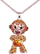 Best diamond monkey necklace Reviews