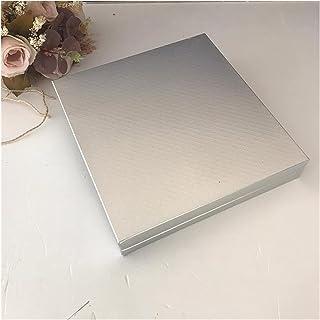 linger Boîtes de chocolat en carton 4x4 Séparateur en papier de chocolat de luxe (32 à 48 unités) Sweet Drage Desert Embal...
