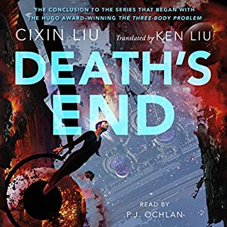 Death's End audiobook cover art