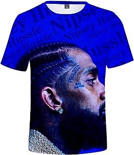 e284706b9 Hip Hop Rap Singer Nipsey Hussle 3D Printed Men's Short-Sleeve T-Shirt  Unisex