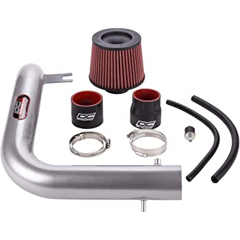 DC Sports CAI4408 Toyota Camry 4 Cylinder Polished Cold Air Intake System with Filter and Installation Hardware