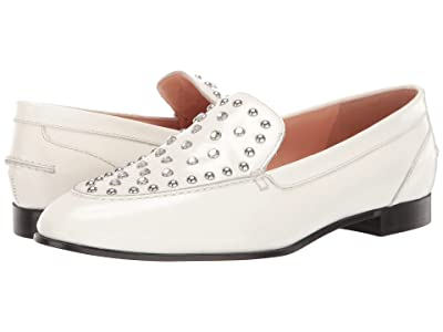 J.Crew Studded No Tab Academy Loafer (Ivory) Women
