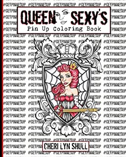 sexy pin up coloring pages
