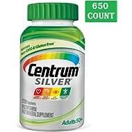Centrum Silver Adult (430 Count) Multivitamin/Multimineral Supplement Tablet, Vitamin D3, Age 50+...