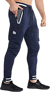 Mens Tapered Workout Sweatpants-Casual Gym Jogger Pants...