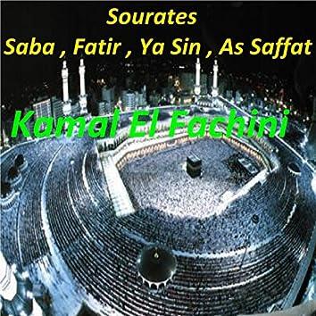 Sourates Saba, Fatir, Ya Sin, As Saffat (Quran)