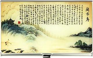 Boîte à cartes de nom de style chinois Nom commercial titulaire de la carte