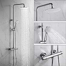 Thermostat Duschsystem Regendusche Duscharmatur Kopfbrause Handbrause Duschset