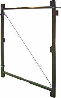 Fence Walk Through Gate Kit - Adjust-A-Gate Steel Frame No Sag Gate Building Kit - This anti-sag gate kit is perfect for repairing existing sagging gates or building new ones. (36