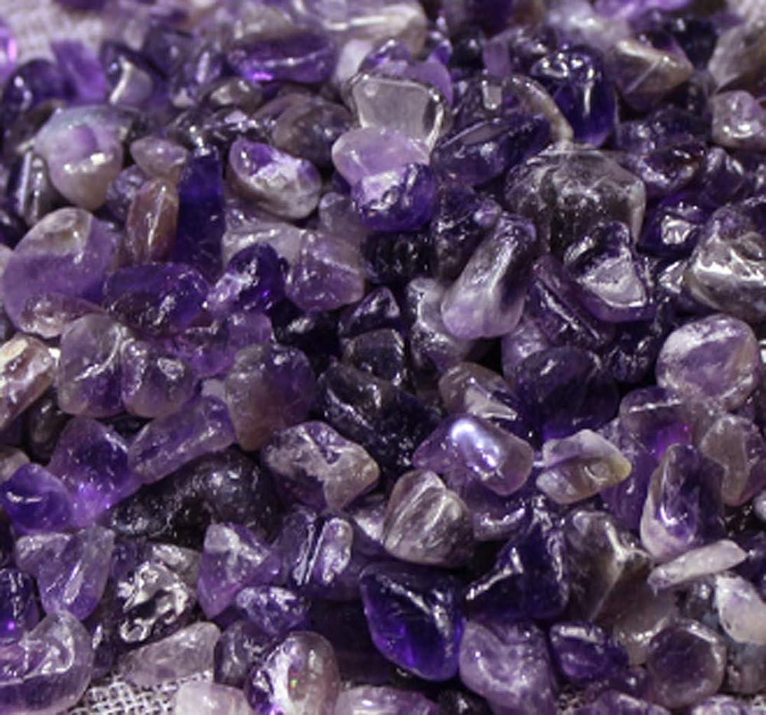 パフ信じる兵士浄化 さざれ 500g 天然石 パワーストーン 各種 5-9mm 紫水晶 アメジスト Amethyst