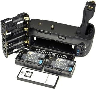 DSTE® Remoto Vertical Batería Apretón Titular para Canon EOS 5D Mark II 5D2 DSLR Cámara Fotográfica como BG-E6 con 2-pack LP-E6