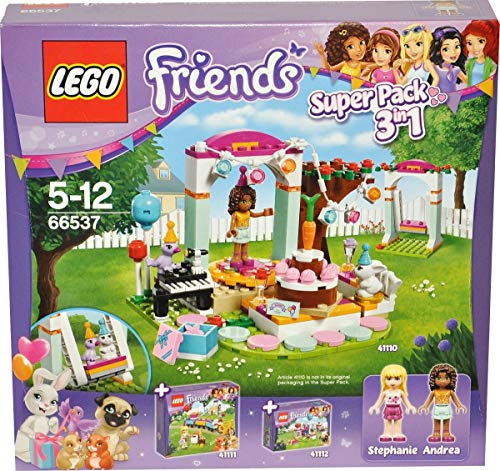 LEGO® Friends 66537 SuperPack 3in1 - Geburtstagsparty