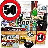 Geburtstag 50 / Geschenkidee Freund / Männer Geschenk DDR