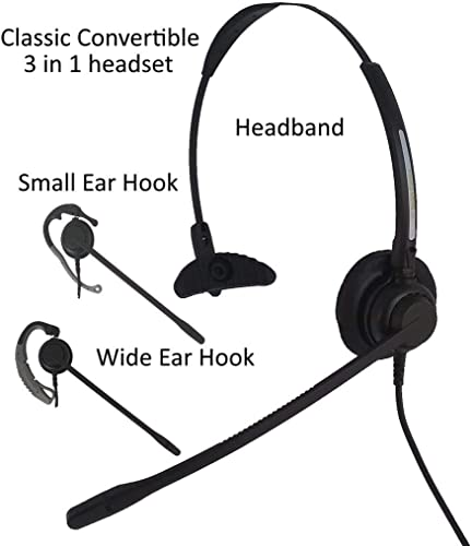wholesale USB Computer popular Headset, Smith Corona Classic Convertible with Detachable outlet sale USB Bottom Cord online sale