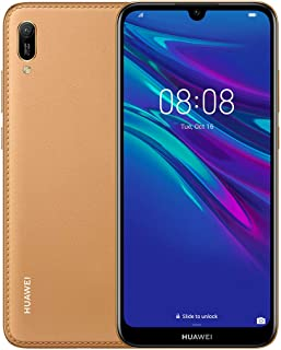 Huawei Y6 Prime 2019 6.09 inch FullView Dewdrop Display Smartphone with Dual Camera, 2GB+32GB, Android 9.0 Sim-Free, Amber Brown