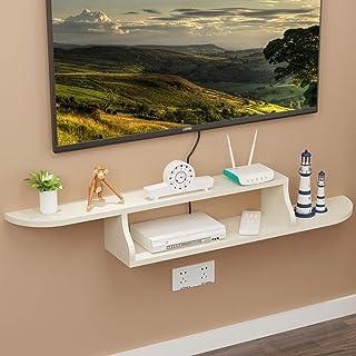 Los estantes flotantes Particiones de la pared, sala de estar TV Fondo de pared Estante de decoración de pared, gabinete d...