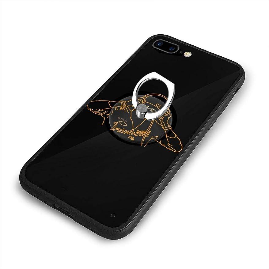 ハチ大理石不安Neon Avicii iPhone 7/8 Plusケースリングブラケット 携帯カバー 創意デザイン軽量 傷つけ防止 360°回転ブラケット 携帯ケース PC 衝撃防止 全面保護