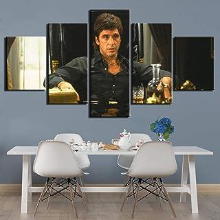 Chuixiaoxiao1 Peinture sur Toile de 5 pièces de Panneau Peinture sur Toile Moderne 5 Pcs HD Prints Art Posters Art Wall Ar...